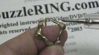 Puzzle Ring Solution for 4 Band REGULAR Puzzle Rings 4B141