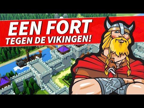 EEN FORT TEGEN DE VIKINGEN!