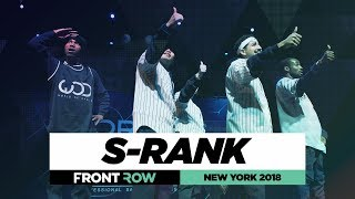 S-Rank   FrontRow   World of Dance New York 2018   #WODNY18