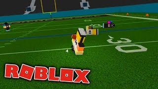 Roblox Football - IT'S ANOTHER FUMBLE!! AHHHHH!!!!