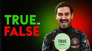 Did Ilkay Gundogan nearly join Man Utd before signing for Man City?! | TRUE or FALSE
