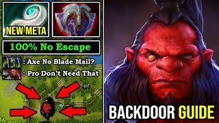 HOW TO BACK DOOR AXE IN 2020 with Eul's Scepter 100% No Escape From Calling No Need Blade Mail DotA2