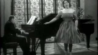 """TERESA BERGANZA sings """"Asturiana"""" (Manuel de Falla)."""