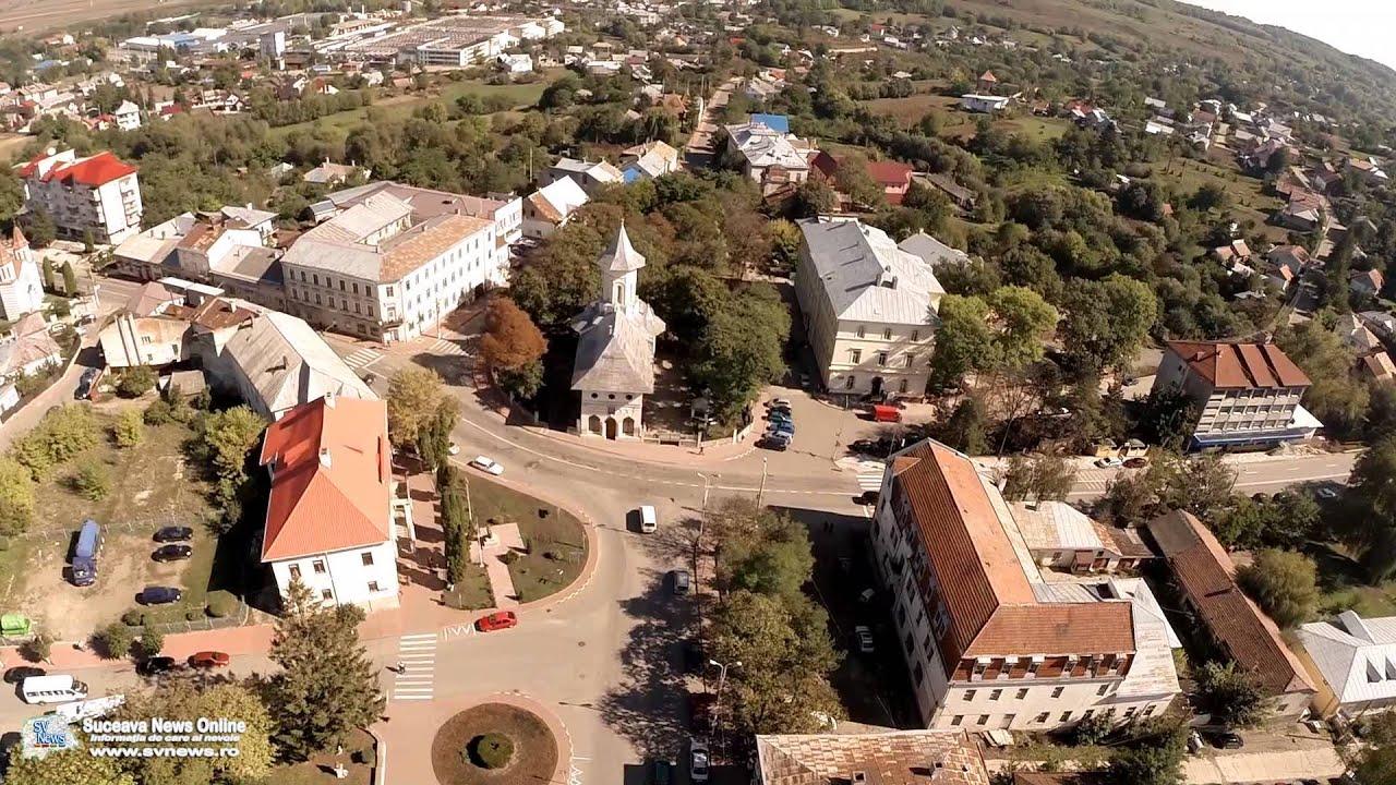 Oraşul Siret (filmare aeriană) - YouTube