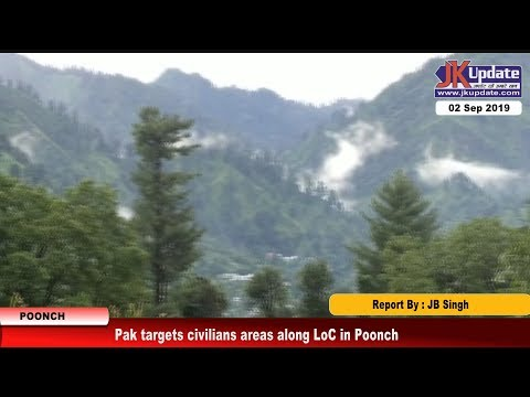 Pak targets civilians areas along LoC in Poonch