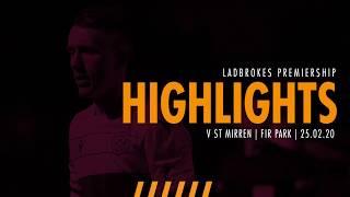 Highlights: Motherwell 1-2 St Mirren