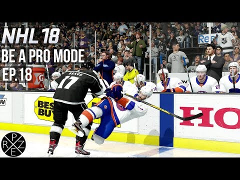 NHL 18 Be A Pro - Los Angeles Kings vs New York Islanders Ep.18 (Xbox One)