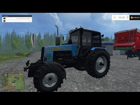Farming Simulator 2015  MTZ - 1221 Belarus V4.0 Tractor Mod