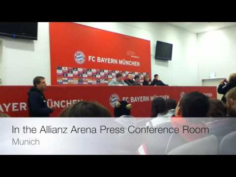 """Talking To The """"Players"""" In The Allianz Arena"""