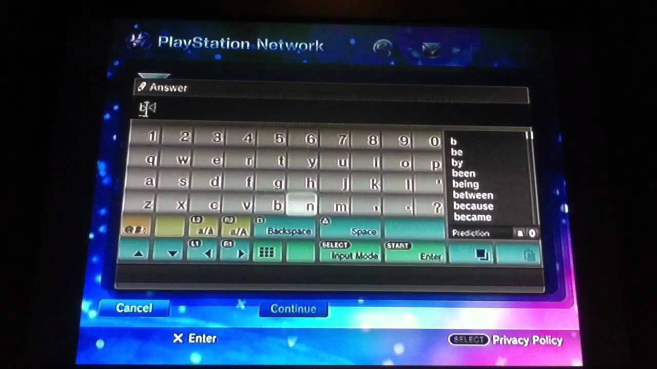 how to make a playstation 3 account