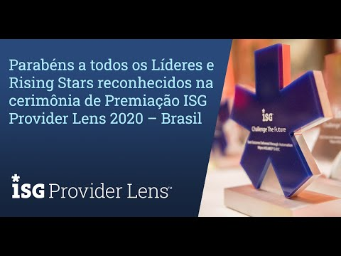 Uoldiveo youtube: Reconhecimento Compasso UOL - 2020 ISG Provider Lens Virtual Awards Ceremony