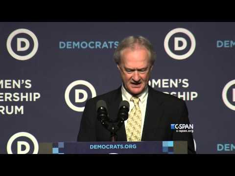 Lincoln Chafee ends Presidential Campaign (C-SPAN)