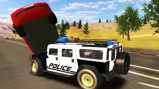 Police Drift Car Driving Simulator - Hummer Police Car Coolest Drifting Android Gameplay