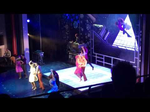 Broadway hit Saturday Night Fever. Part 1 Musical onboard Liberty of the Seas!