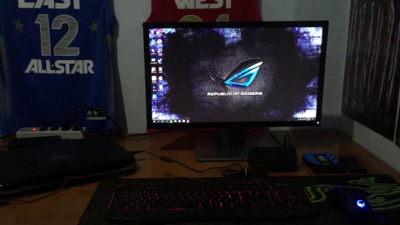 Gaming Laptop Setup Simple