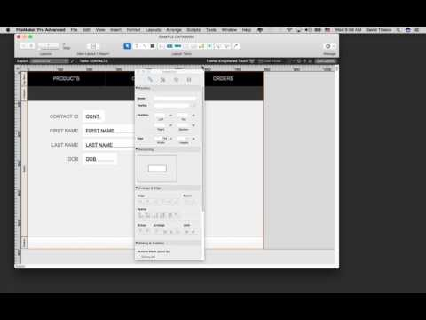 How To Use FileMaker Pro 16 - Part 2