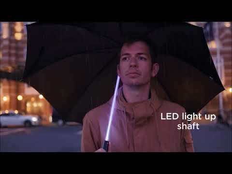 BTC Group presents light sabre umbrella
