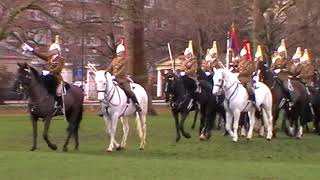 Household Cavalry Mounted Regiment inspection rehearsal - March 2018