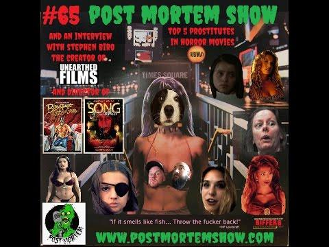 Post Mortem Show e065 - Guinea Pig A Go-Go (Stephen Biro Interview and Top 5 Prostitutes)