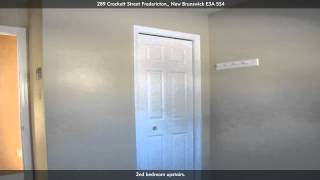 289 Crockett Street, Fredericton, E3A 5S4, New Brunswick - Virtual Tour