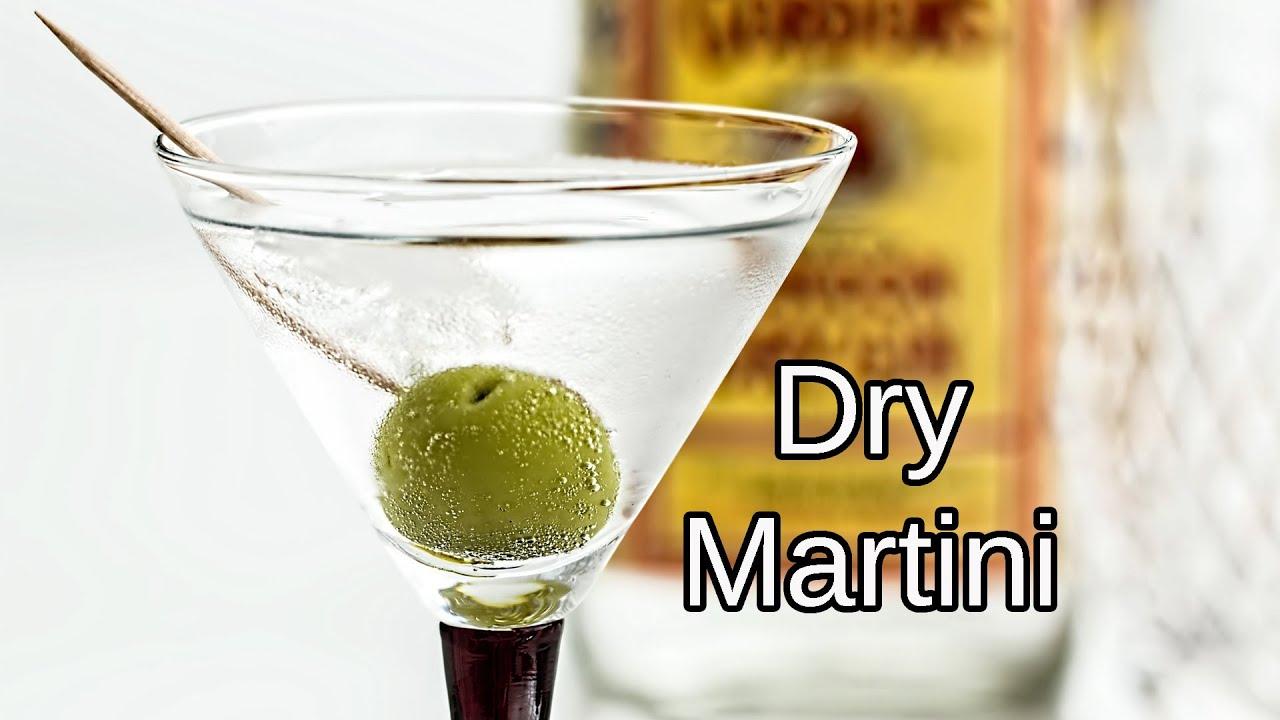Preparar Un Dry Martini Youtube