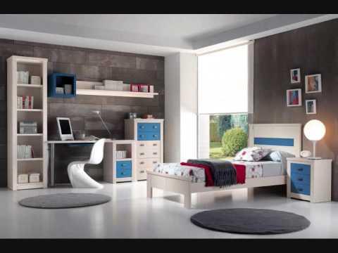 Dormitorios juveniles pino muebles ilmode youtube for Muebles juveniles modernos