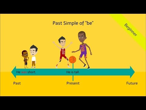 Past Simple Tense be - was / were: Fun & Interactive English Grammar ESL Video