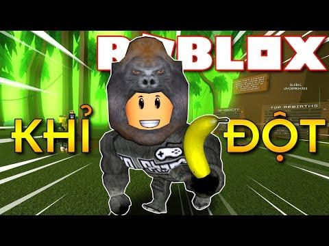 Roblox   KIA HÓA THÂN THÀNH CON KHỈ ĐỘT - Gorilla Simulator 2 (Code)   KiA Phạm