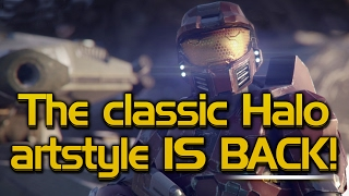The Classic Halo art style IS BACK! (NO SPOILERS!)