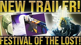 Destiny 2. NEW CURATED WEAPON! Festival Of The Lost, Horror Story Tier 10 600 Power Weapon & Perks
