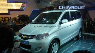 Chevrolet Enjoy (GM India) Concept MPV Walk Around From Auto Expo 2012