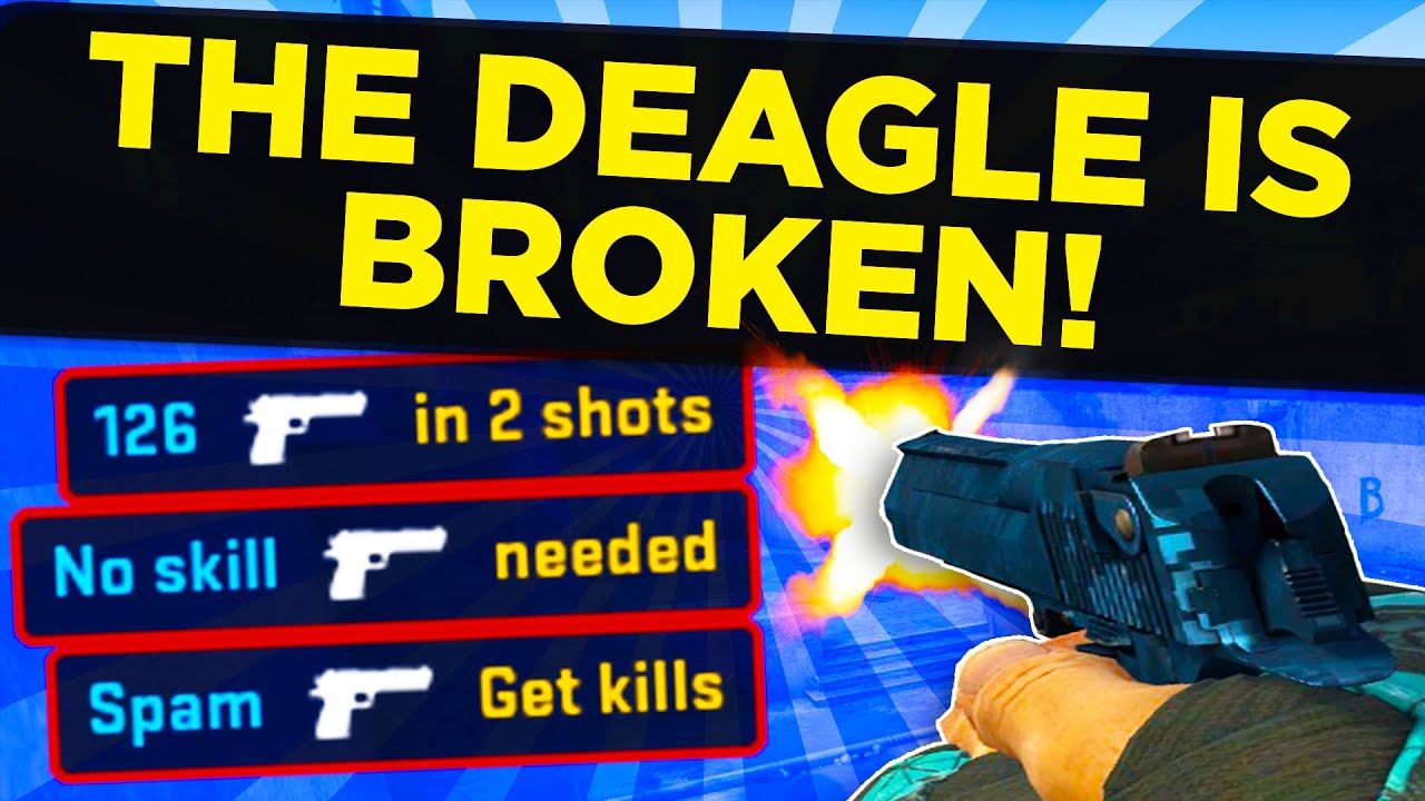 The DEAGLE is ruining CS:GO. Here's why.