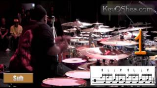 Eric Moore Cross Sticking Gospel Drum Skills | Drum Lesson