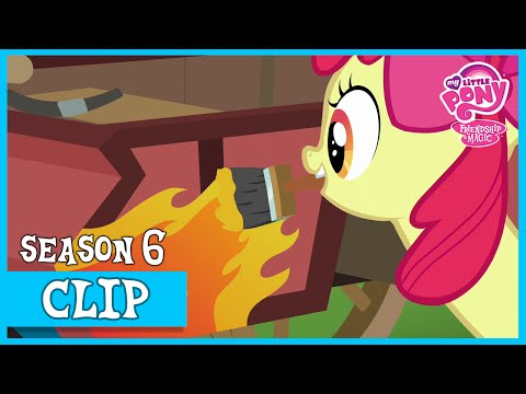 Working on The Crusader's Carts (The Cart Before The Ponies) | MLP: FiM [HD]