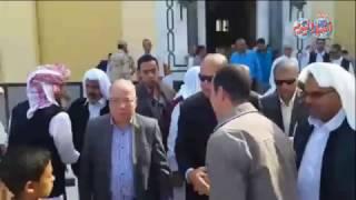 أخبار اليوم   صلاة الجمعة من المسجد الكبير بمطروح بحضور  المحافظ ووزير الثقافة حلمى نمنم