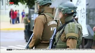 President's promise after shooting sparks widespread fury (Chile) - Sky News - 16th November 2018