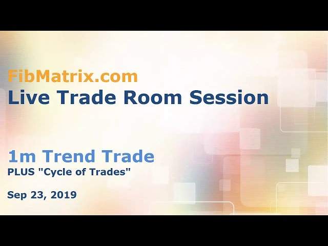 1m Trend Trade – Quick 7 pips FibMatrix Live Forex Trade Room – Fibonacci Grid day trading software