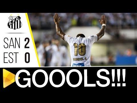 Santos 2 x 0 Estudiantes | GOLS | Libertadores (24/04/18)