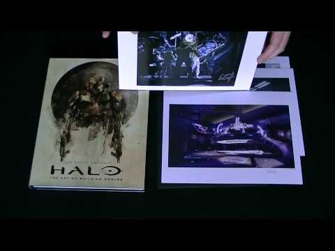 [CRITIQUE VIDEO - 13] ARTBOOK CRITIQUE -ARTBOOK COLLECTOR HALO : THE ART OF BUILDING WORLD
