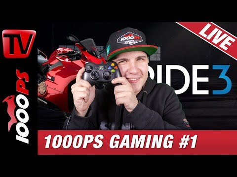 1000PS Gaming #1 - Ride 3 LIVE Gameplay