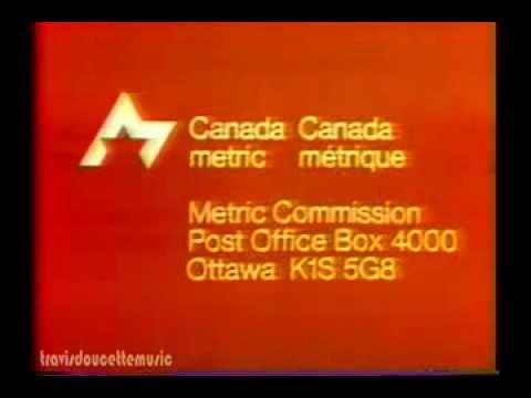 Canada Metric Conversion PSA 1975