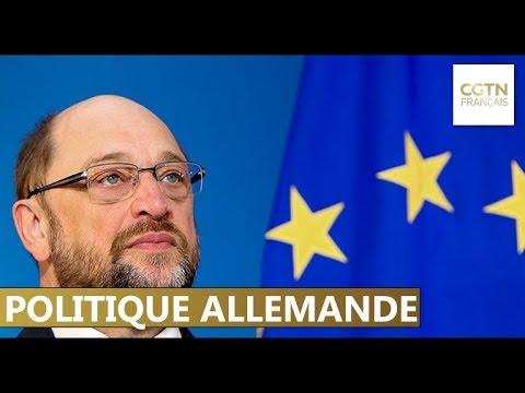 Le chef du Parti social-démocrate Martin Schulz renonce au ministère des Affaire