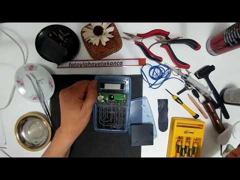 Kolay elektronik devrede Oksit pas temizlemek