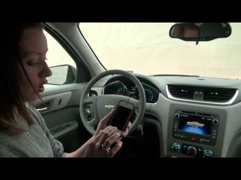 Pairing a Bluetooth Phone To Your Car - Chevy Traverse Walk Through