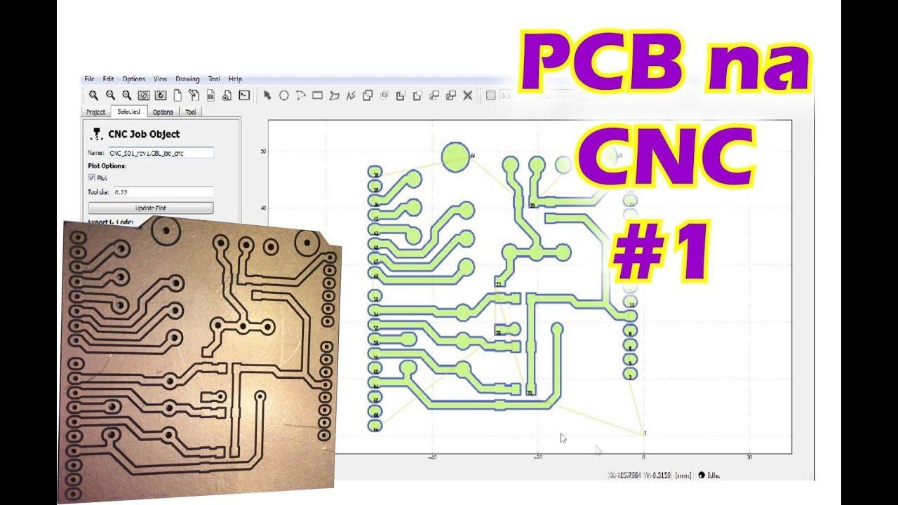 PCB na CNC #1 - FlatCAM by CNC Brasil