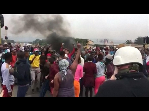 Protests over lack of social housing continue in Johannesburg