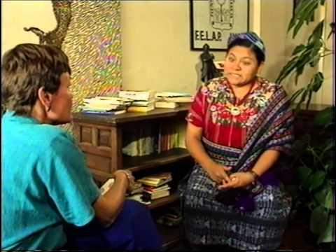 Rigoberta Menchu Tum - Friedens- Nobelpreis für eine Maya - Christin (Doku-1992)
