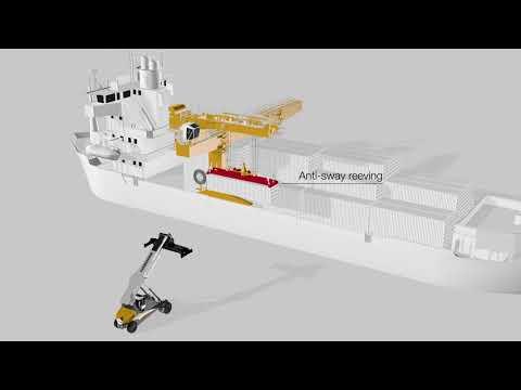 Liebherr - CCB - Special Design Ship Crane