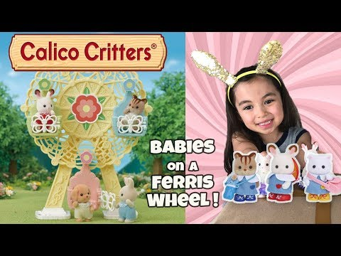 SYLVANIAN FAMILIES CALICO CRITTERS MUSICAL INSTRUMENT FOR BABY FIGURE BLUE PIANO