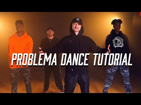 Daddy Yankee - Problema Official DANCE TUTORIAL by Greg Chapkis